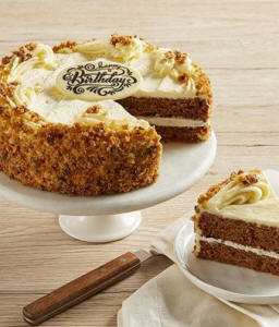 Birthday Carrot Cake - Home Delivery